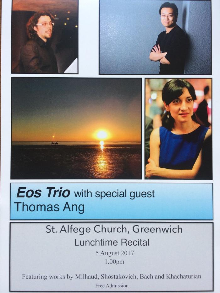 Eos Trio St. Alfege
